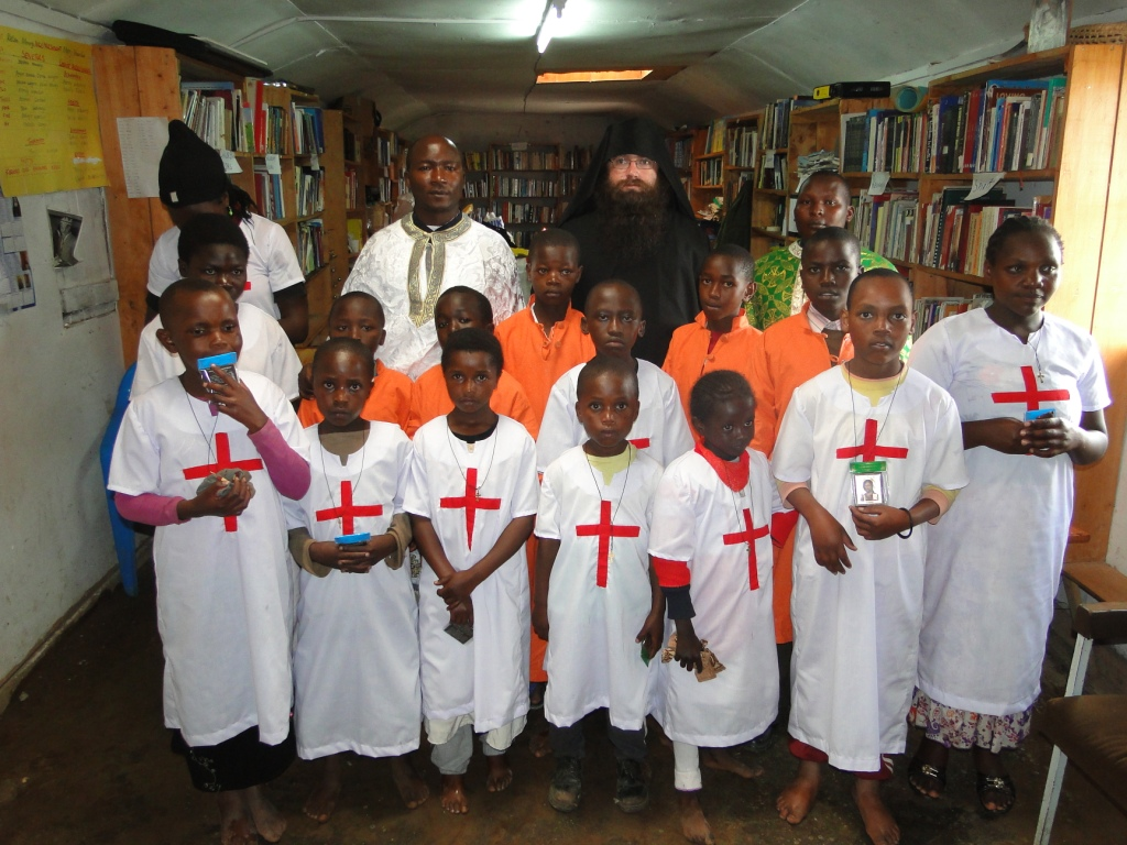 newly baptised Orthodox children in Africa 2