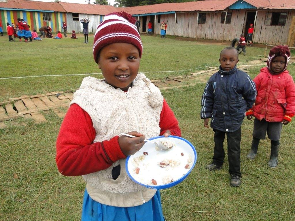 African children in Orthodox Orphanage and School