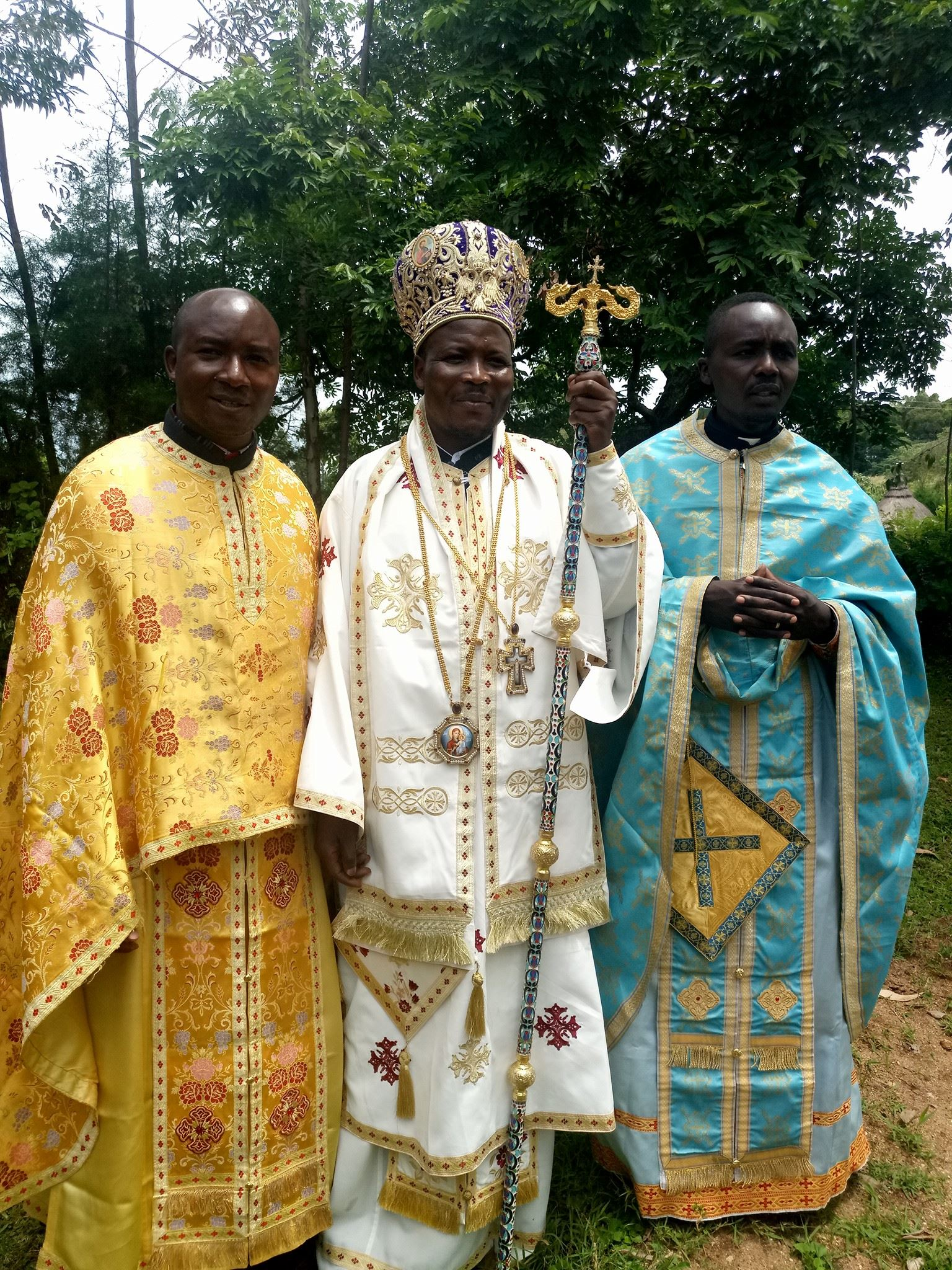 Bishop Akunda of Kisumu
