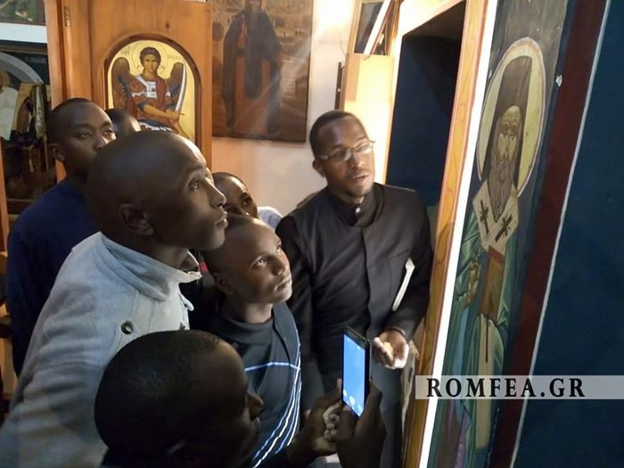 Icon of St. Nektarios streams myrrh on his feast day, Archbishop of Nairobi reports