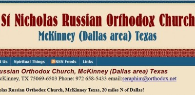 St Nicholas Russian Orthodox Church Dallas