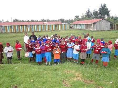 Feeding program at St Barnabas orthodox mission education centre 1