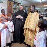Orthodox Church in Kenya. Relics of St Andrew the Apostle of Christ