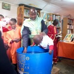 Orthodox church in Kenya. Baptism. 1 2017