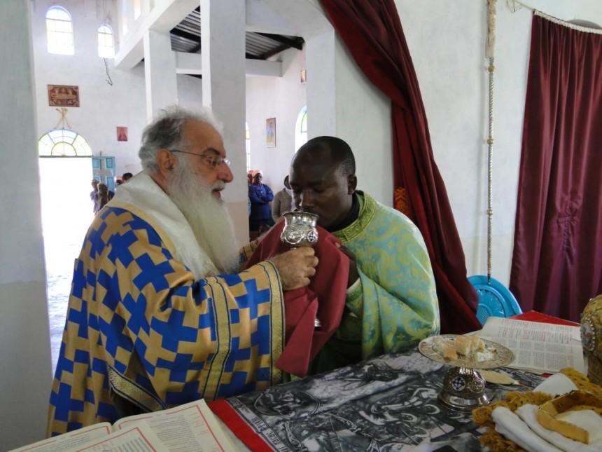 orthodox. Holy communion
