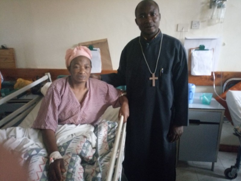 Orthodox Church In Africa. Philanthropy and Love