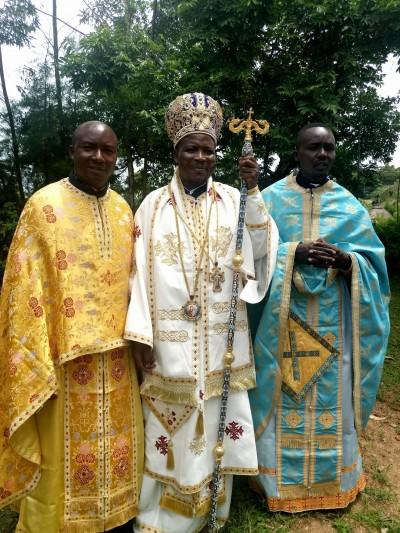 Bishop Akunda of Kisumu